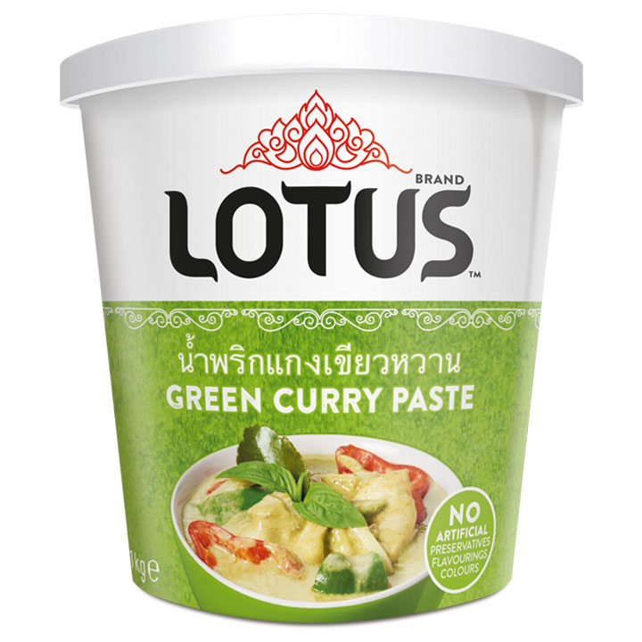 Lotus Green Curry Passt
